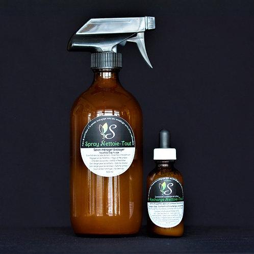 Spray nettoie-Tout de la savonnerie cosmétique de la baie