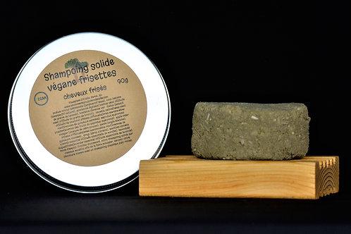 Shampoing-barre Frisette de la savonnerie Poussière d'étoile
