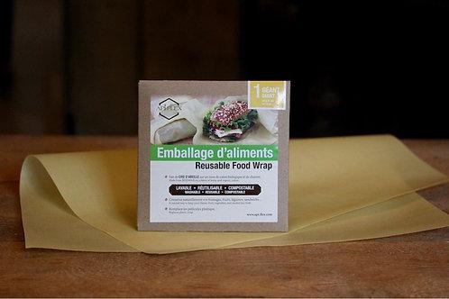 Emballage alimentaire réutilisable Géant Api-Flex