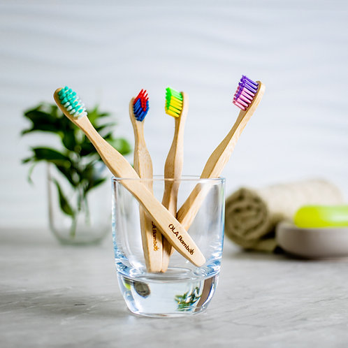 Brosse à dents souple pour enfant de Ola bamboo