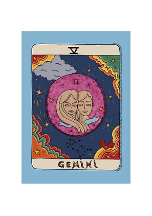 Gemini Horoscope Print