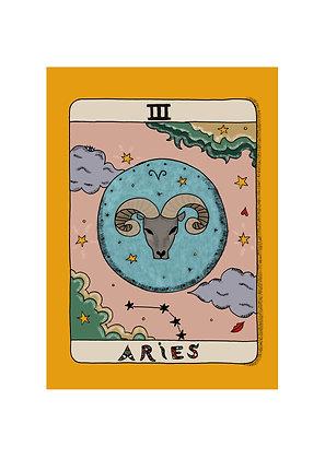 Aries Horoscope Print