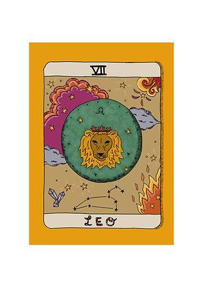 Leo Horoscope Print