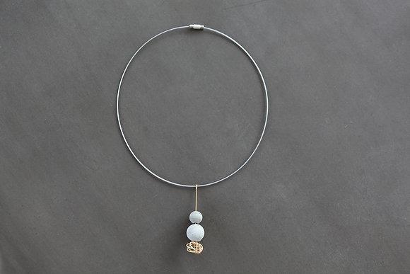 Web Drop Necklace