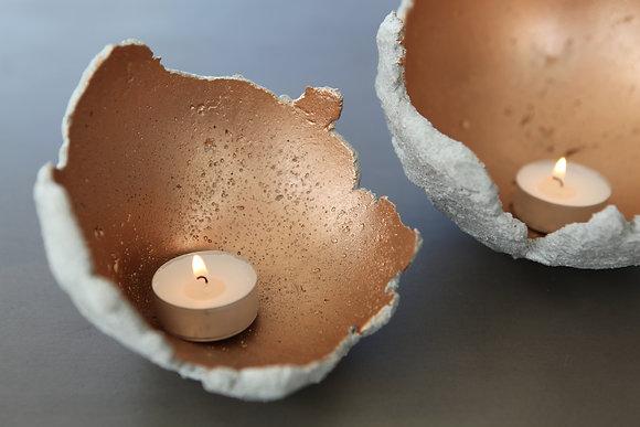 Broken Egg T-Light Holder