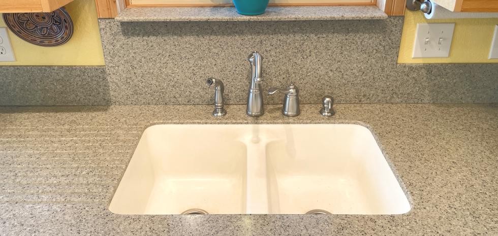 Main Sink Area