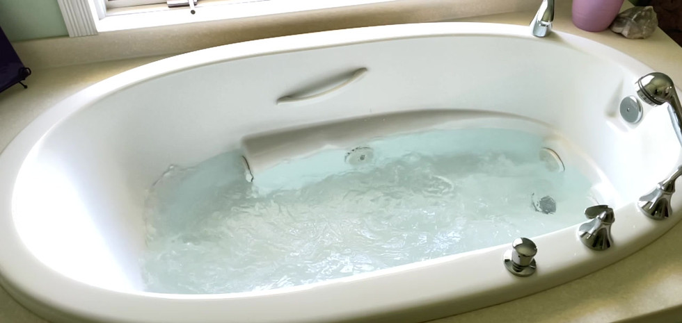 Relax in the Jetted Tub