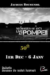 Memories of Pompei 1971 de Jacques Boumendil