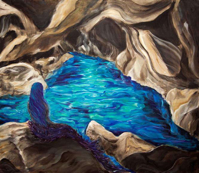 La naissance du bleu