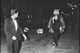 Mireille Darc & Alain Delon