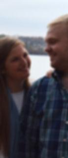 Katie & Andrew - co-owners of Neer the Creek