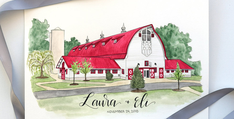Watercolor Churches & Venues