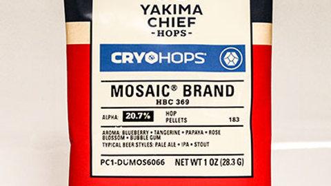 CRYO HOPS® MOSAIC® PELLETS 1 OZ