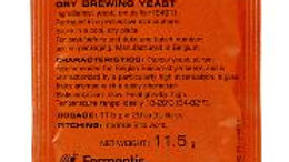 SAFALE BE-134 DRY ALE YEAST 11.5 GRAMS