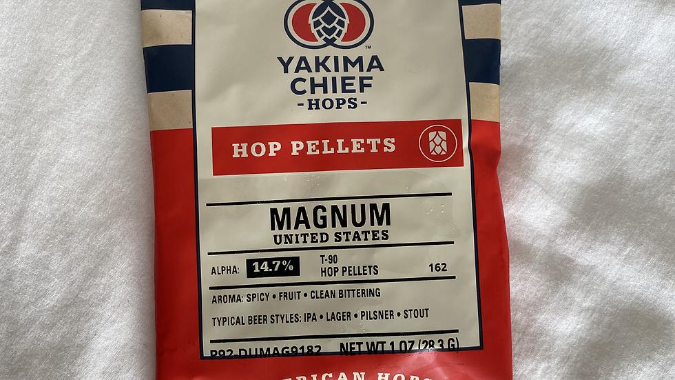 US Magnum Hop Pellets 1oz.