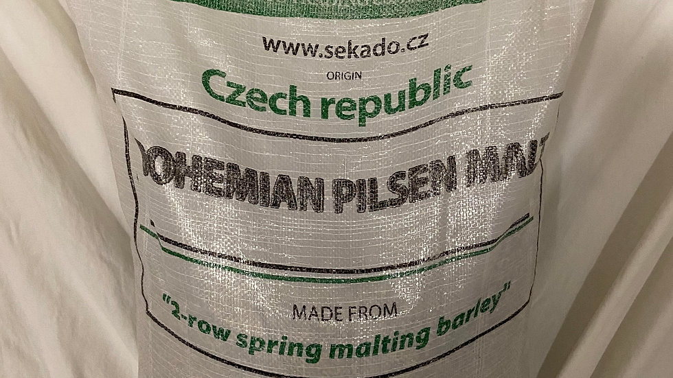 PREMIUM CZECH BOHEMIAN PILSNER MALT 55 LB (2L) - SEKADO