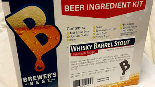 WHISKY BARREL STOUT INGREDIENT PACKAGE (PREMIUM)