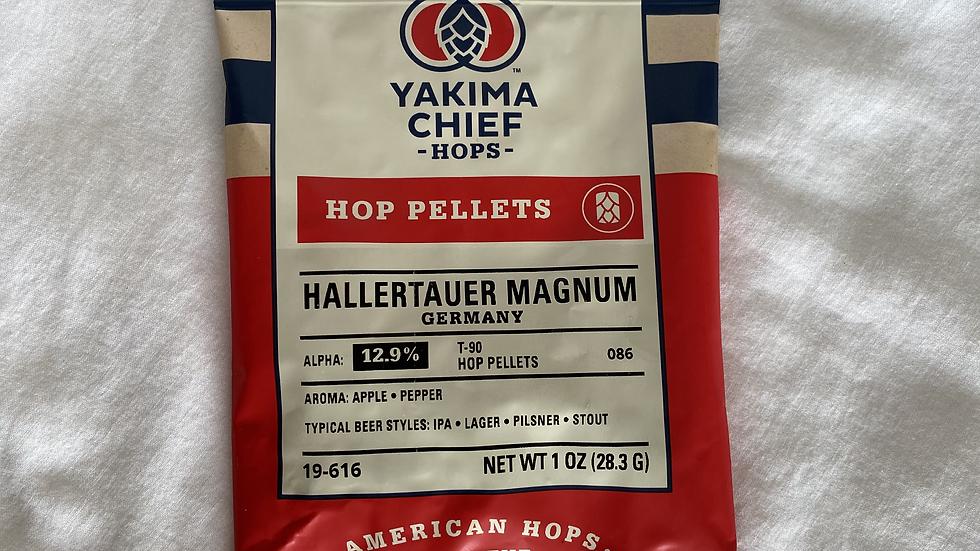 German Hallertauer Magnum Hop Pellets 1oz.