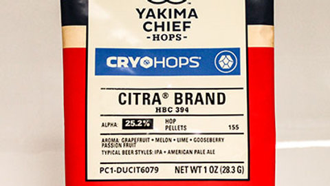 CRYO HOPS® CITRA® PELLETS 1 OZ