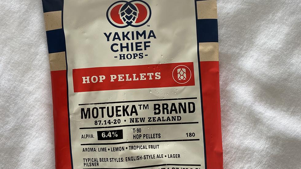 NZ Motueka Hop Pellets 1oz.