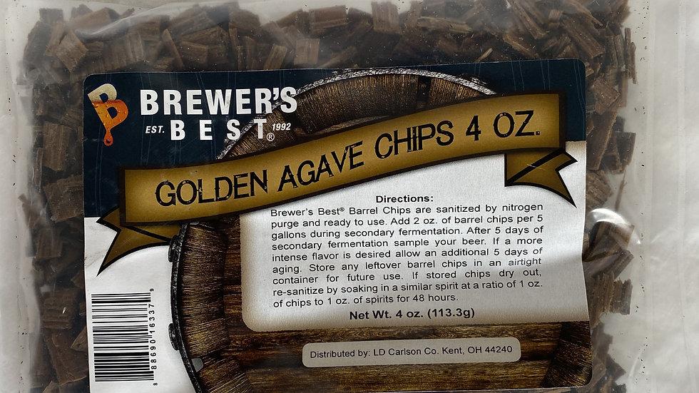 BREWER'S BEST® GOLDEN AGAVE BARREL CHIPS 4 OZ