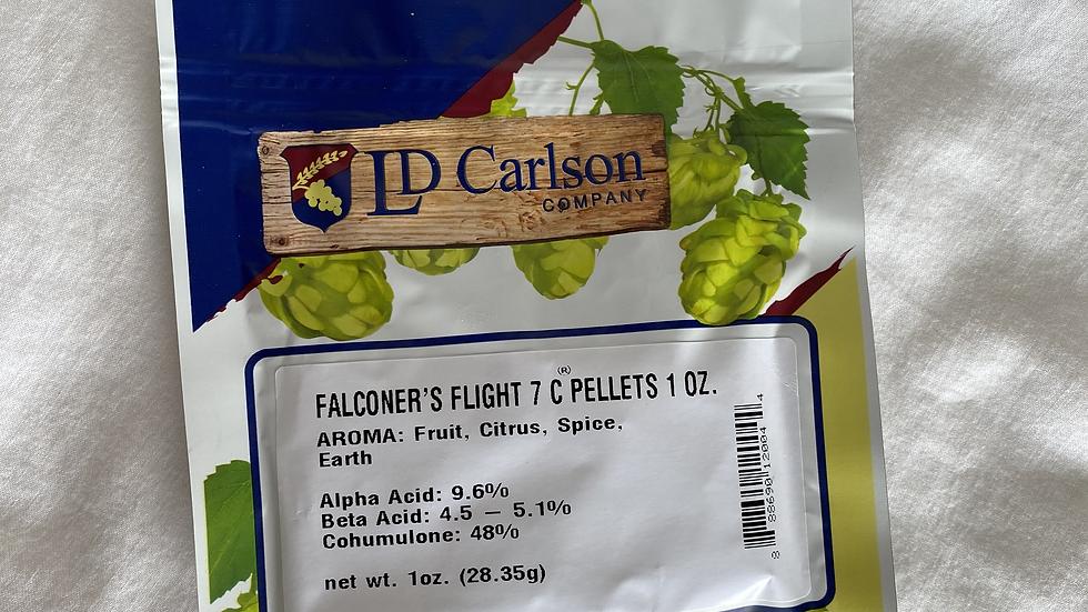 US Falconer's Flight 7C's Hop Pellets 1oz.