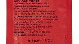 SAFALE US-05 DRY ALE YEAST 11.5 GRAMS