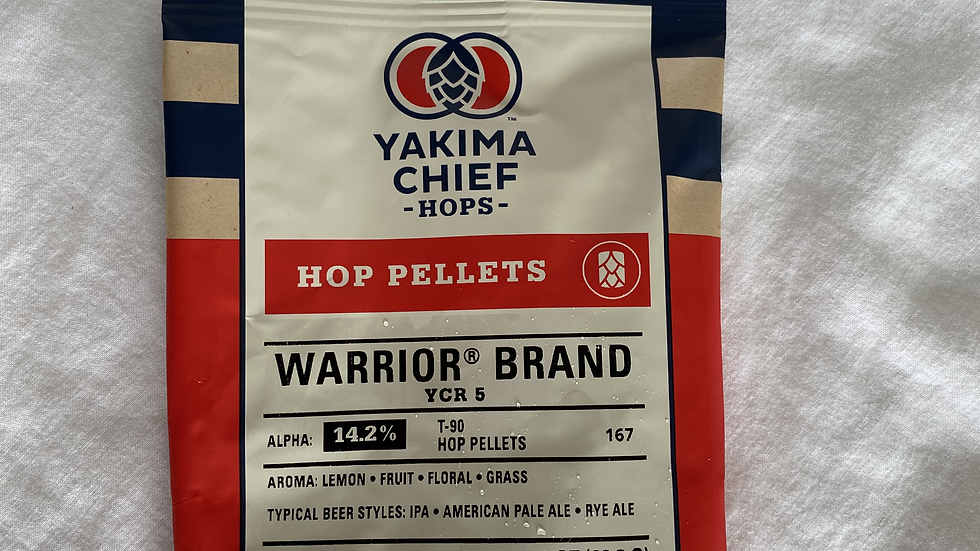 US Warrior Hop Pellets 1oz.