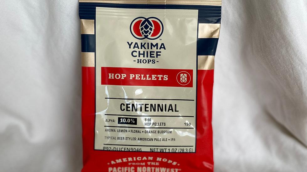 US Centennial Hop Pellets 1oz.
