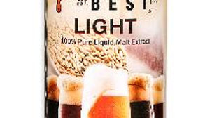 BREWERS BEST® LIGHT LIQUID MALT EXTRACT 3.3 LB