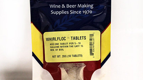 WHIRLFLOC TABLETS, 10 TABLETS