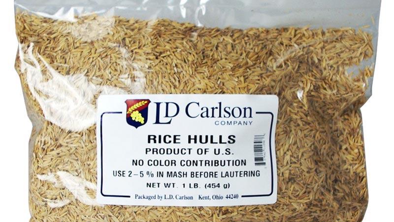 Rice Hulls 1Lb