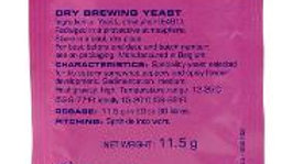 SAFALE T-58 DRY BREWING YEAST 11.5 GRAMS
