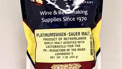 PLATINUMSWAEN© SAUER MALT 1 LB ( Acidulated Malt )