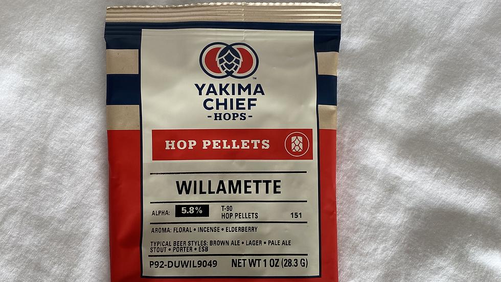 US Willamette Hop Pellets 1oz.