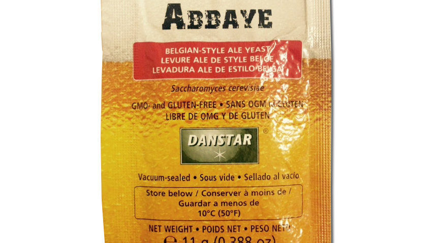 LALLEMAND ABBAYE ALE BREWING YEAST 11 GRAM