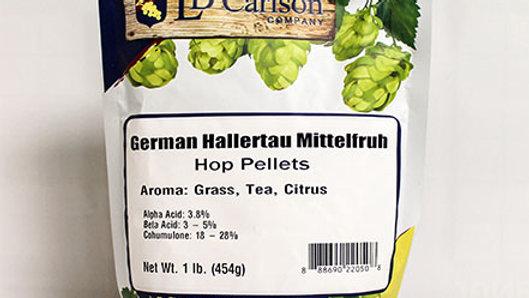 GERMAN HALLERTAU MITTELFRUH HOP PELLETS 1 LB