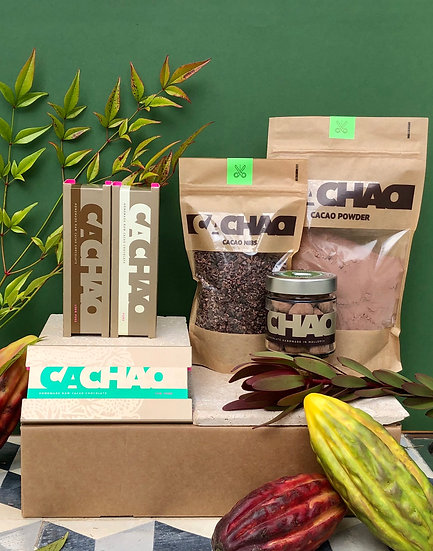 Cacao Lovers Gift Box (Virgin)