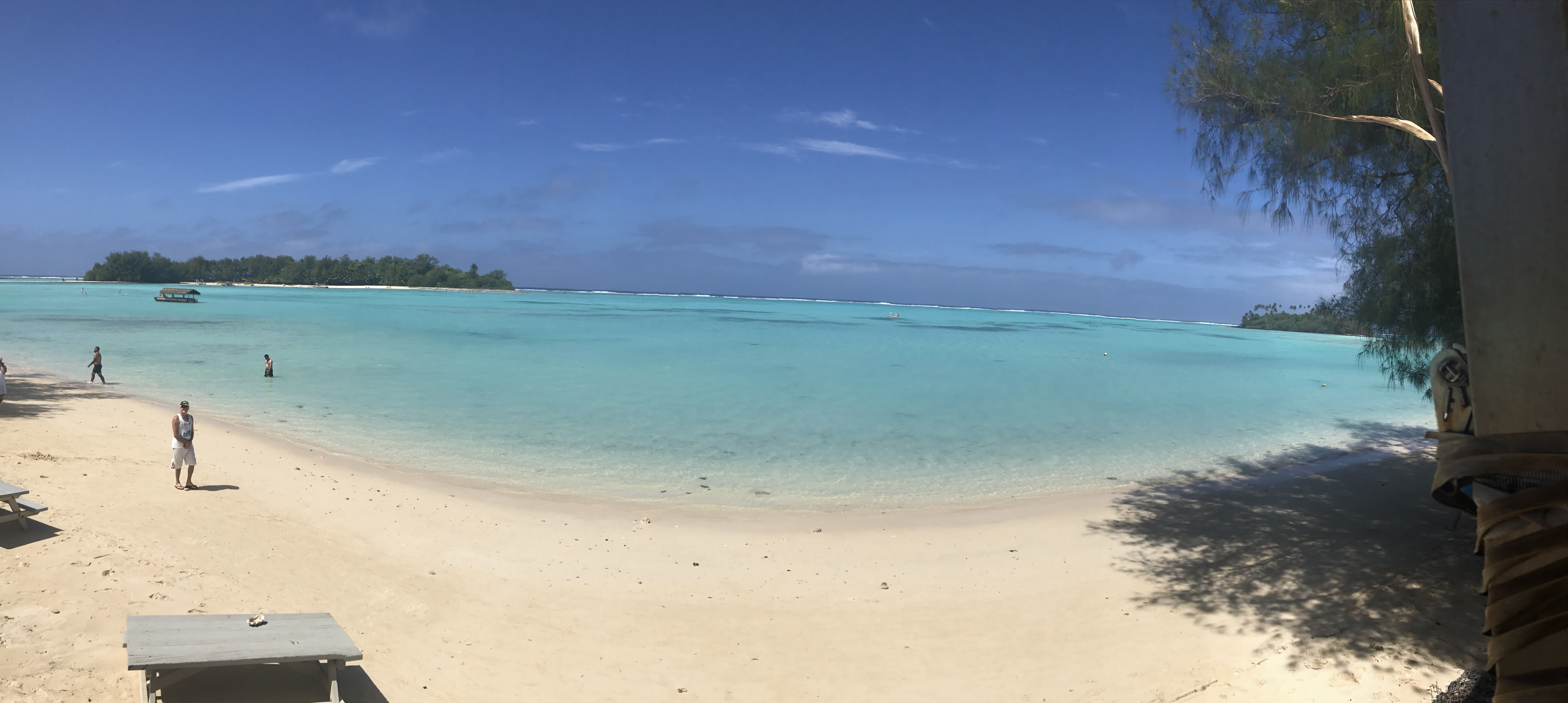Panorama view Muri Shores