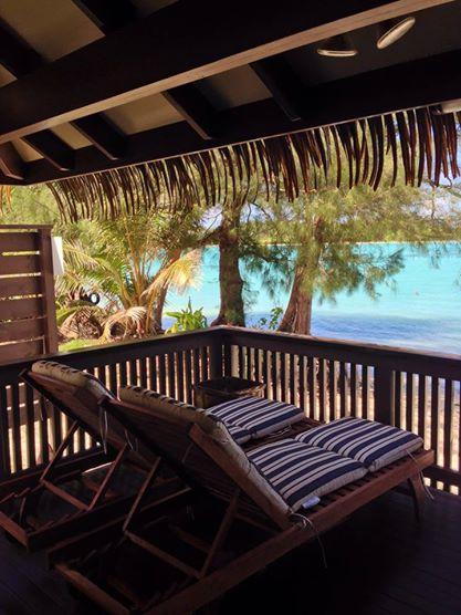 Overlooking Muri Lagoon