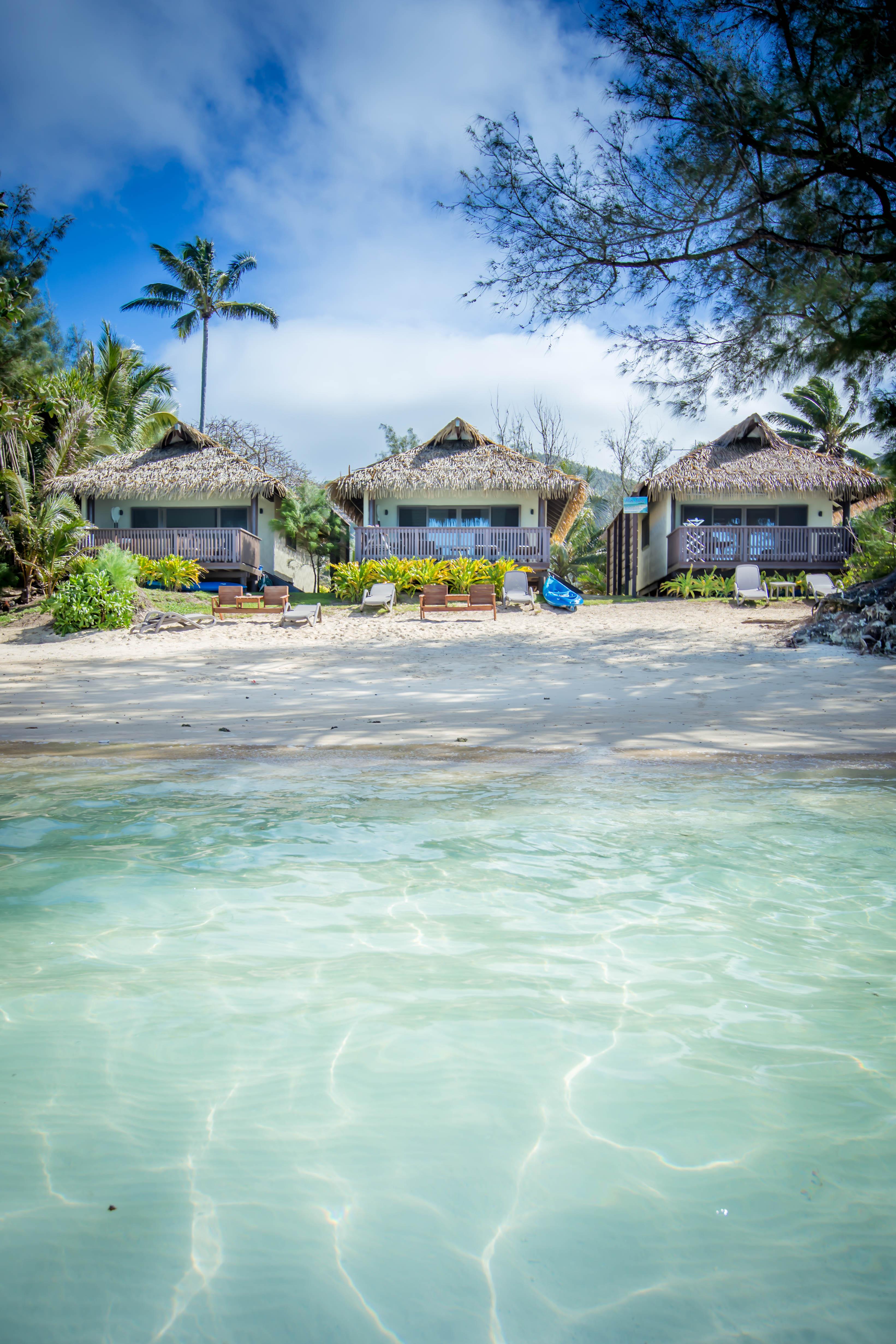Muri Lagoon wth Muri Shores in View