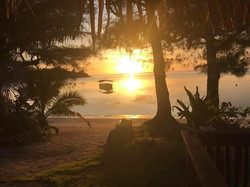 Sunrise from Muri Shores