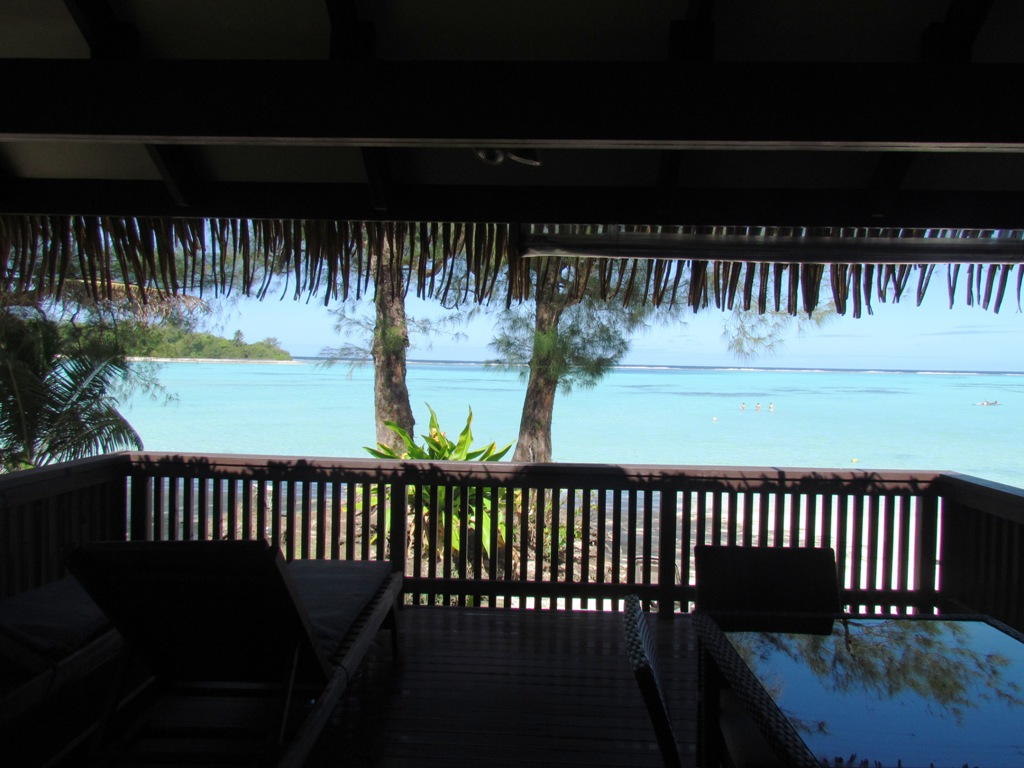 Muri Shores View from deck
