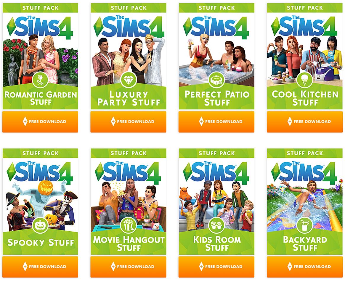 pc packs 4 sims download stuff digital