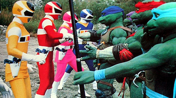 Power Rangers in Space & TMNT's