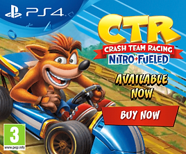 PS4 CTR Advertisment