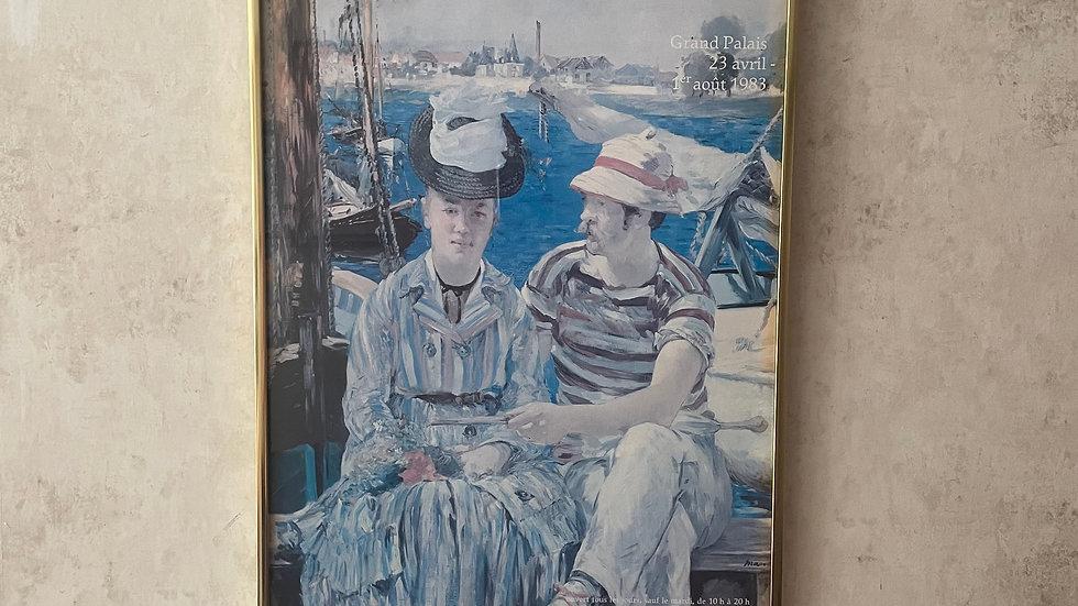Manet, Framed Print