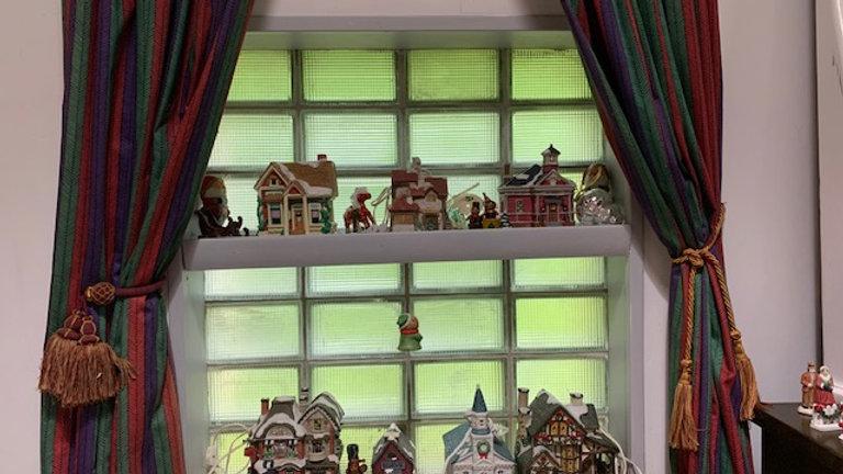 Huge lot Christmas Village