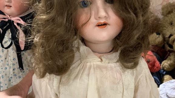 Large antique bisque doll