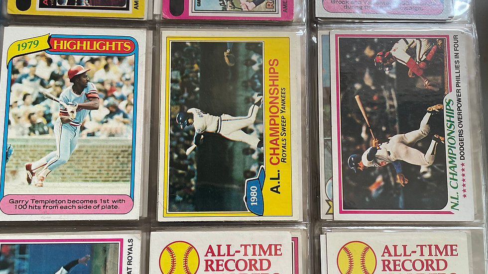 Baseball Cards- Topps and others 1977-1983